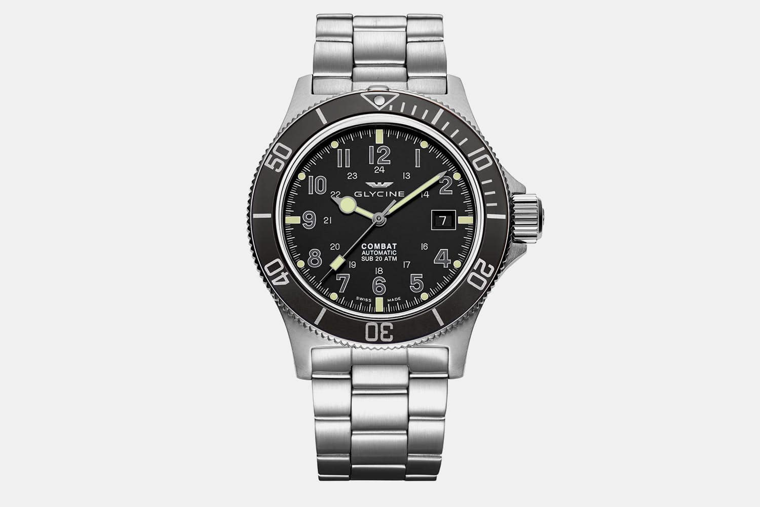 Glycine - Combat Sub Men's Automatic Watch (Various Styles) $379.99 + Free Shipping