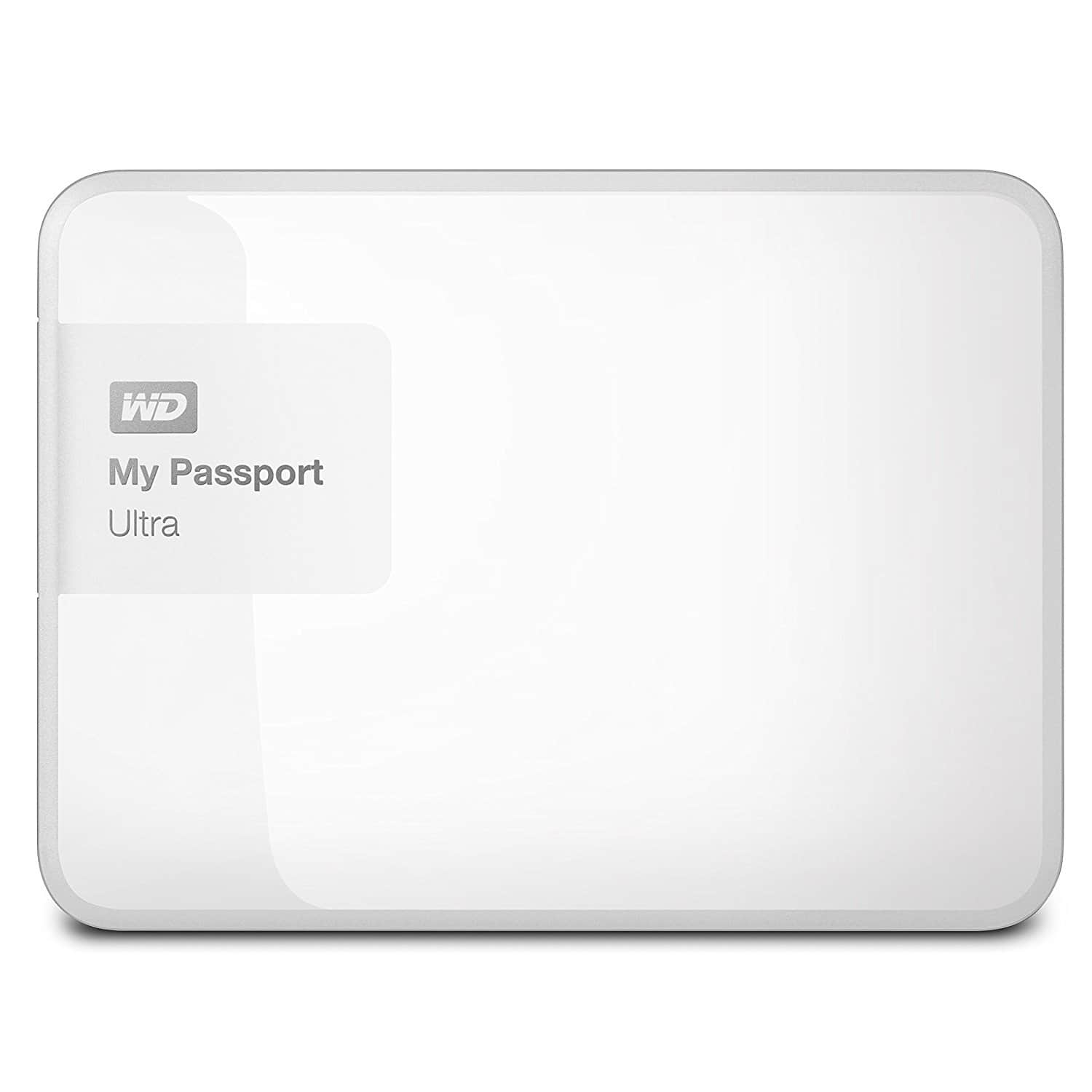 3TB WD My Passport Ultra (White) USB 3.0 $75.99 + Free Shipping
