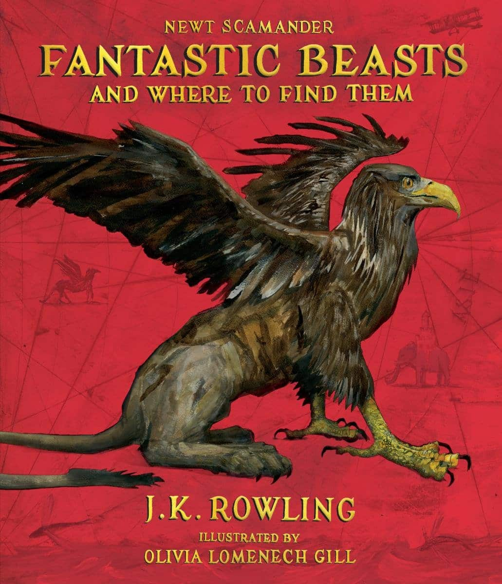 Fantastic Beasts and Where to Find Them Illustrated Edition $12.59 Amazon