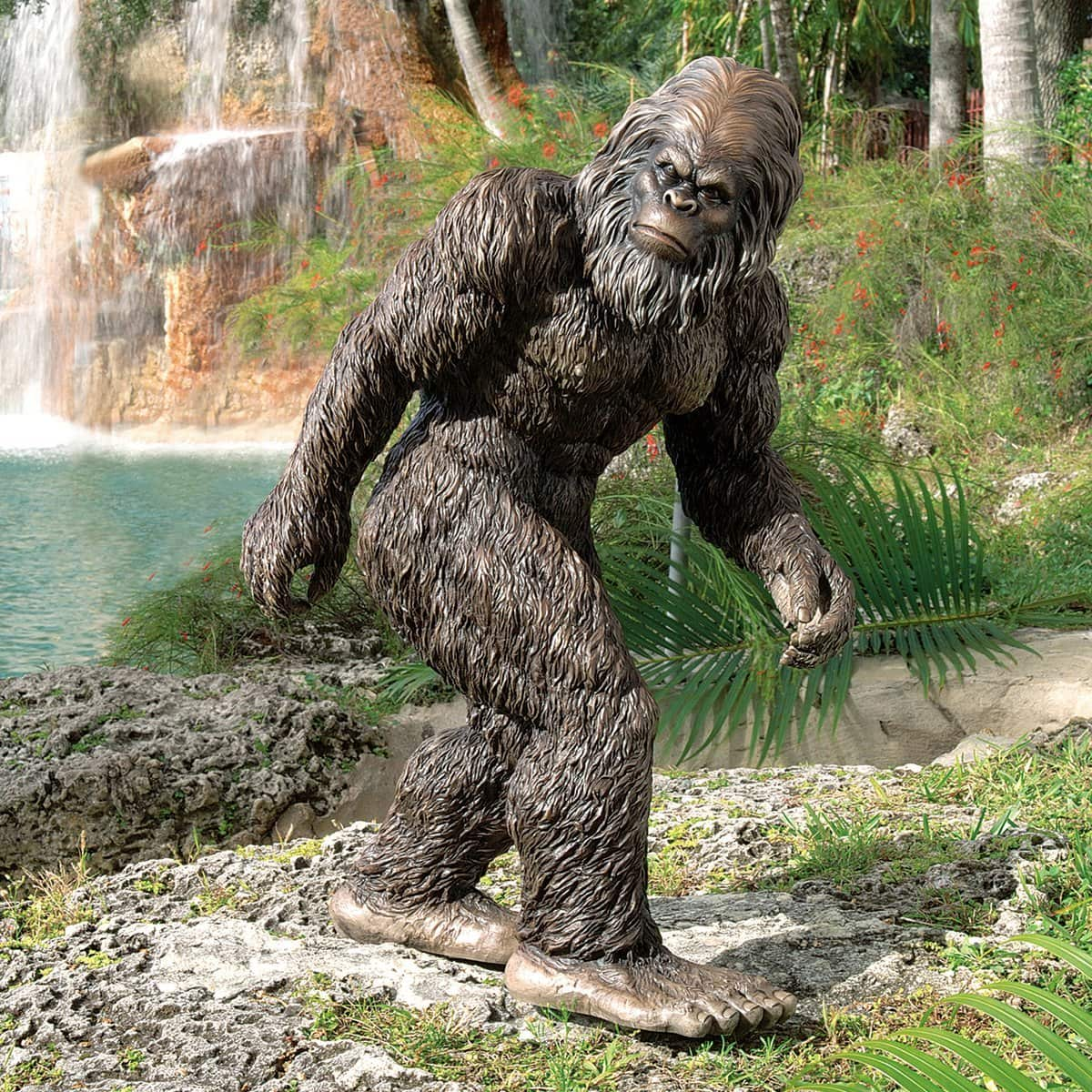 Fine Art Sale on Large Bigfoot Garden Statue - 7% Off! $149.95
