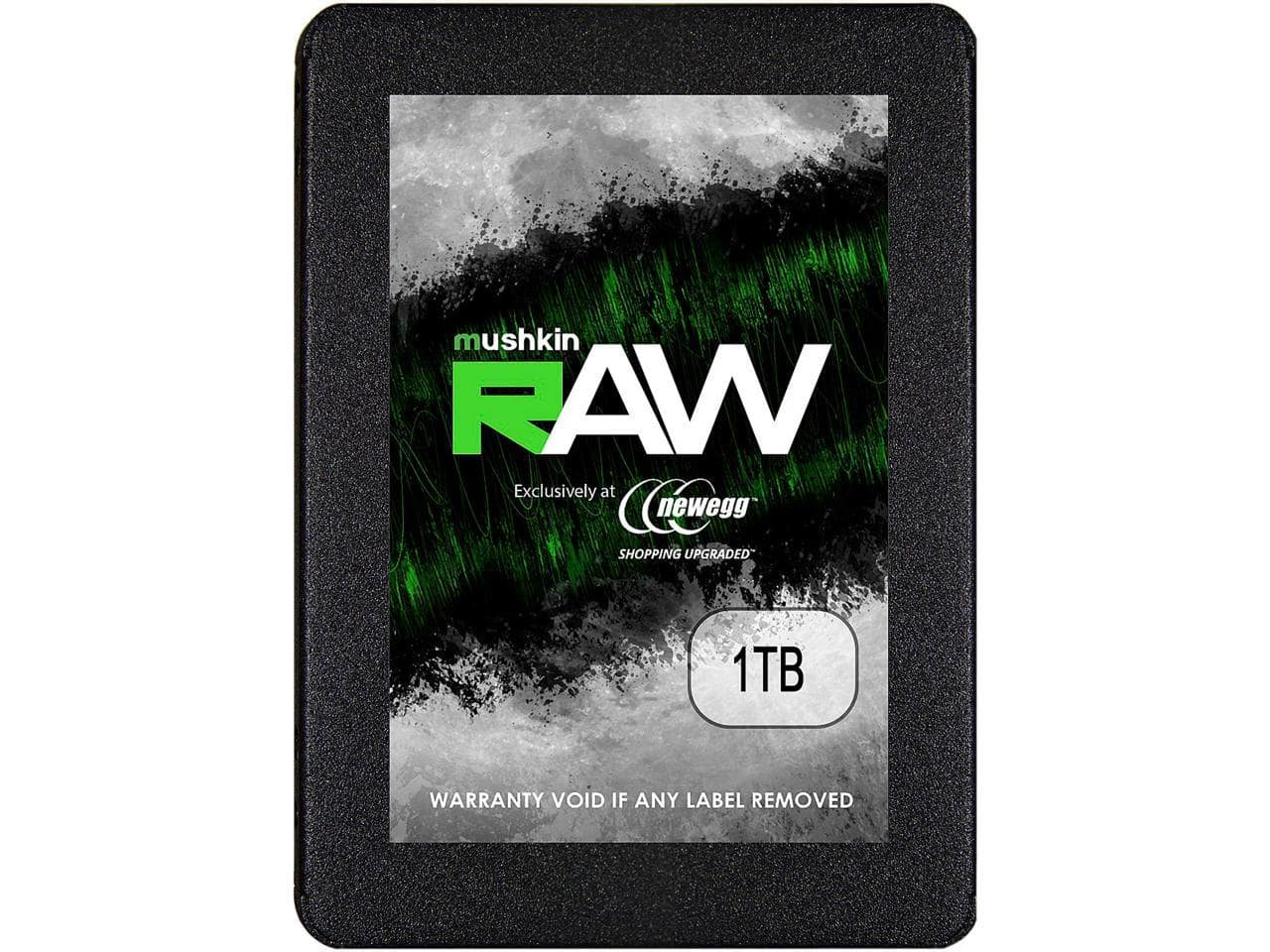 "Mushkin Enhanced RAW Series 2.5"" 1TB SATA III 3D TLC Internal Solid State Drive (SSD) $87"
