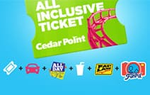 Cedar Point Amusement Park - All Inclusive Ticket - $176.00+ $6 Processing Fee, Save Up to $118