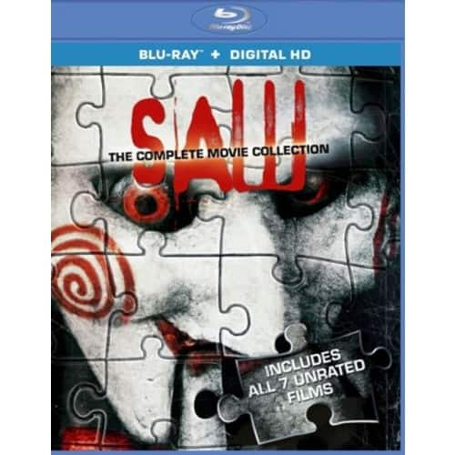 Saw: The Complete Movie Collection---Amazon-Blu-Ray + Digital HD---$13.39
