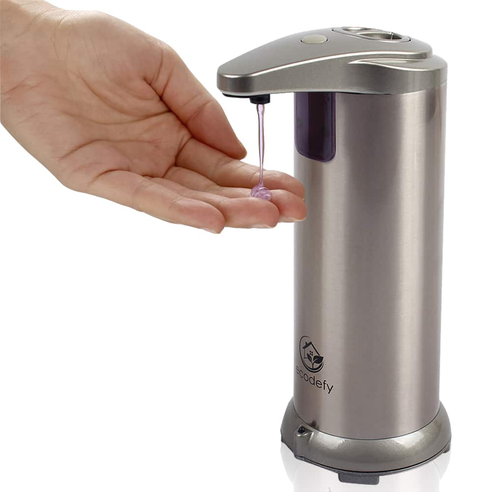 60% Off EcoDefy Touch-Free Countertop Soap Dispenser $16.95