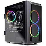 CYBERPOWERPC Gamer Xtreme VR Gaming PC, Intel Core i5-9400F 2.9GHz, NVIDIA GeForce GTX 1660 6GB, 8GB DDR4, 240GB SSD, 1TB HDD, WiFi Ready & Win 10 Home (GXiVR8060A8, Black) $599.97