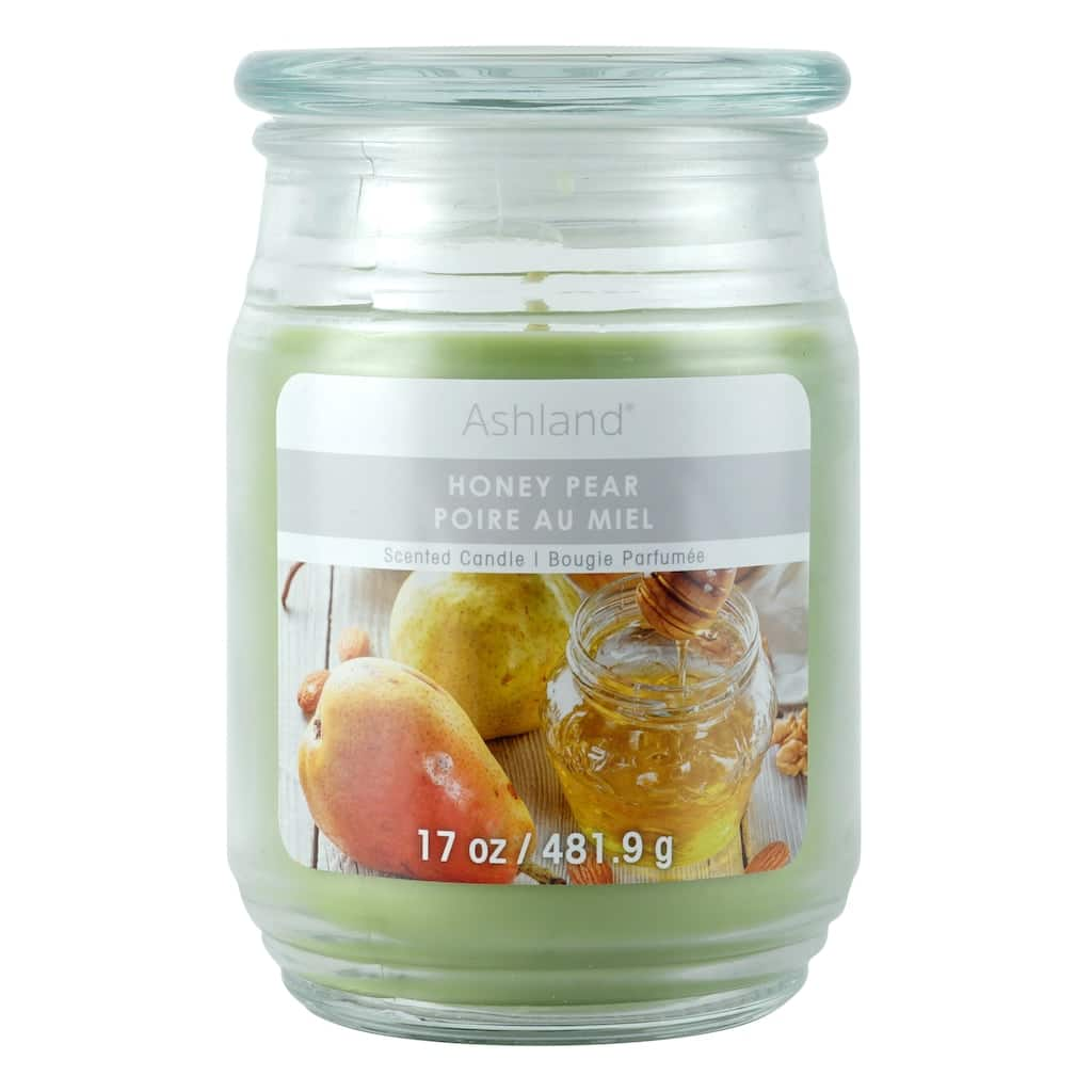 Ashland 17oz glass jar candles $1.20 at Michaels Craft Stores B&M YMMV