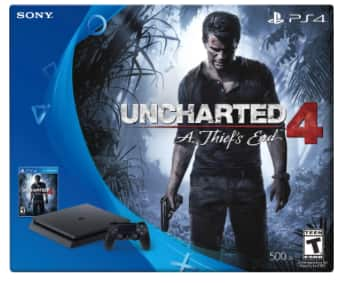 Sony PS4 1TB Base or 500GB Bundles (Uncharted 4 and COD Infinite Warfare) $159.99 No Tax - AAFES (Military Only)