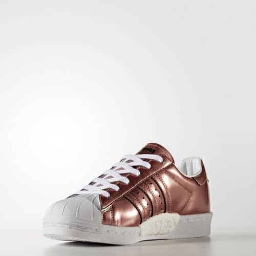 Adidas Superstar Shoes Women's Brown $36