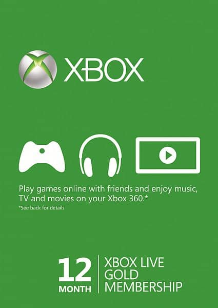 12 Month Microsoft Xbox Live Gold Membership (Email Delivery) $41.99 @ Gamesdeal