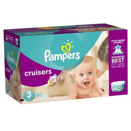 Pampers Diaper Clearance Walmart In Store Only $15/Box YMMV - Swaddlers, Cruisers, and Baby Dry