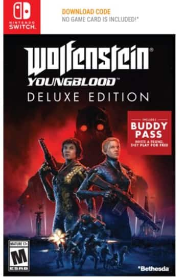 Wolfenstein:Youngblood Deluxe Edition (Switch) + free ship to store