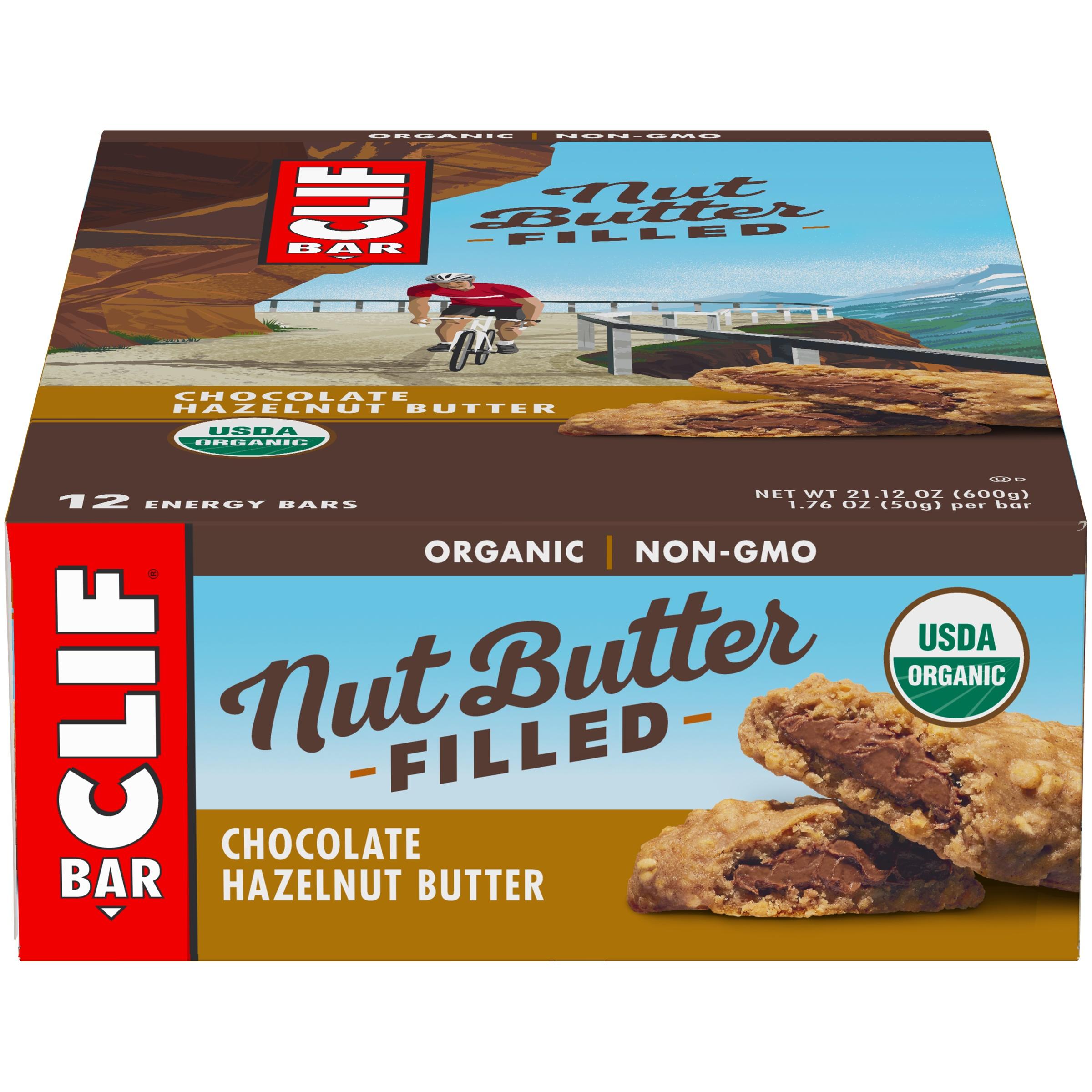 Clif Bar, Nut Butter Filled, Chocolate Hazelnut Butter, 12 ct $4.1