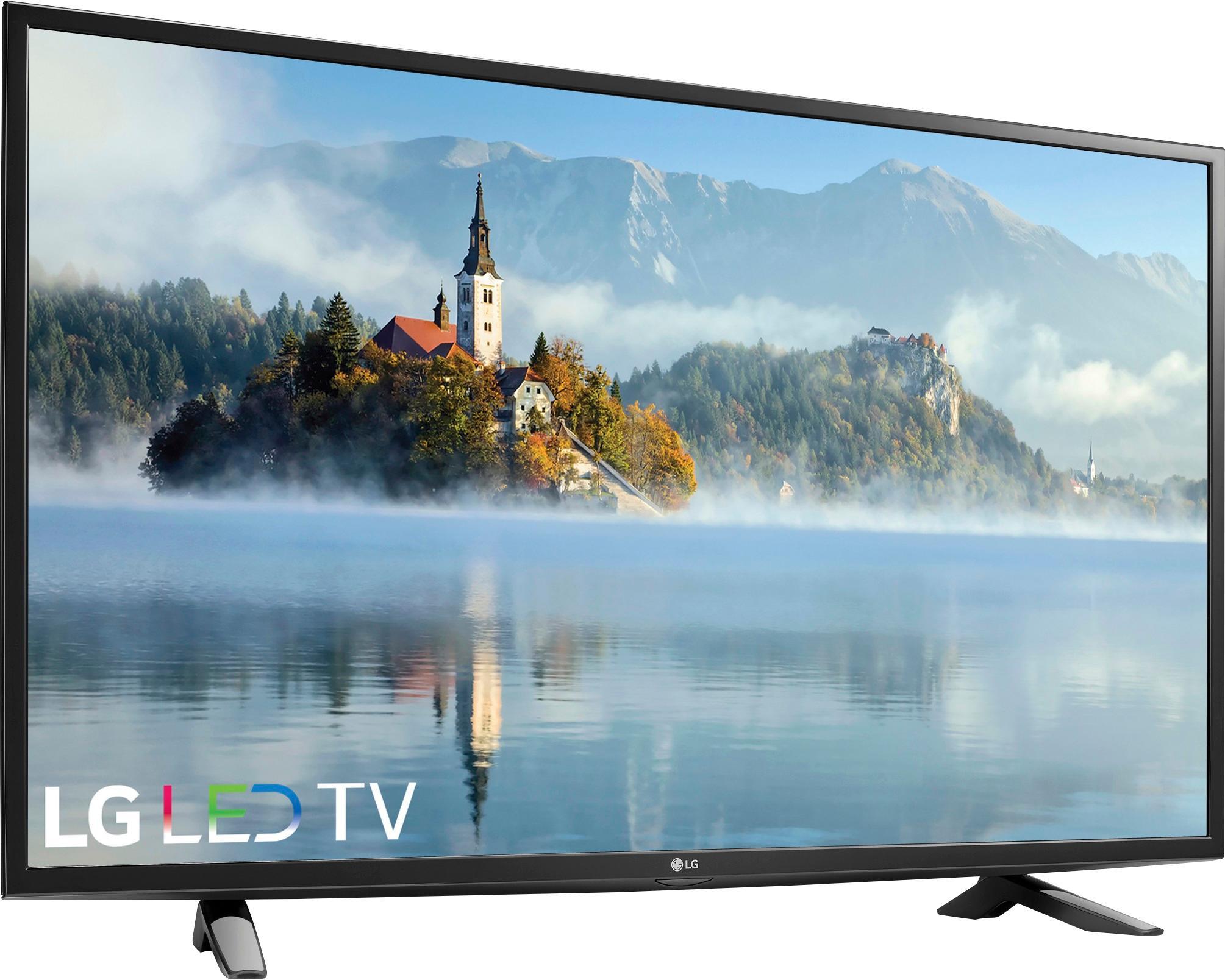 """LG 49"""" Class LED 1080p HDTV YMMV 49LJ510M $164.99"""