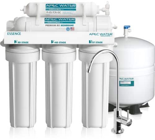 APEC WATER SYSTEMS 5 Stage 50 GPD Reverse Osmosis RO Water Filter System ROES-50 + Free Shipping $164.99