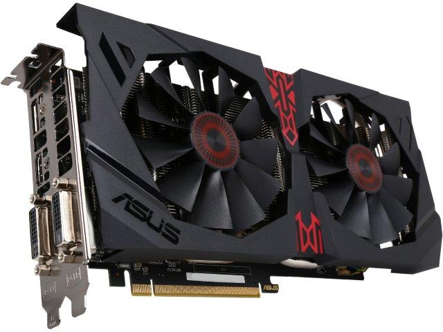 ASUS Radeon R9 380 STRIX Gaming 4GB $150