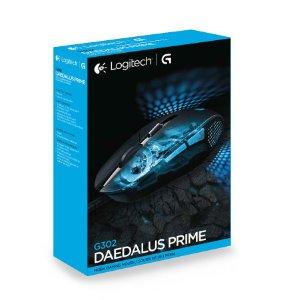 Logitech G302 Daedalus Prime MOBA Gaming Mouse $25 @Amazon