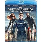 Captain America: The Winter Soldier blu-ray @ Amazon $9.99