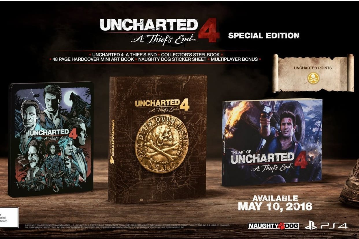 Amazon Prime Day Deal via Alexa: Uncharted 4 special edition PS4 $25