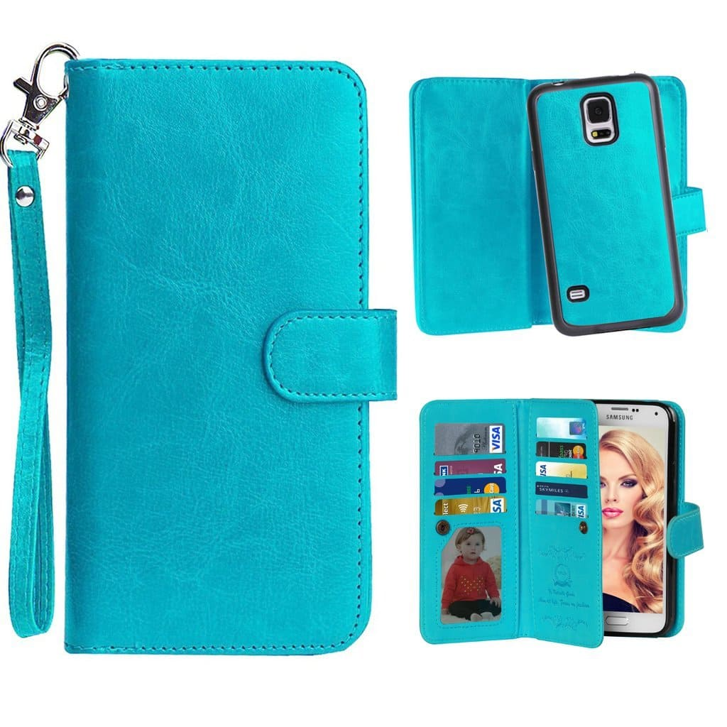 Vofolen Samsung Galaxy S5 Wallet Case - $1.99 AC @ Amazon