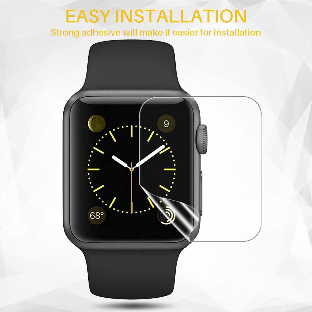 [6 pack] Screen Protector for Apple Watch (38mm/40mm, 42mm/44mm Compatible) from $3.89 FS @Amazon