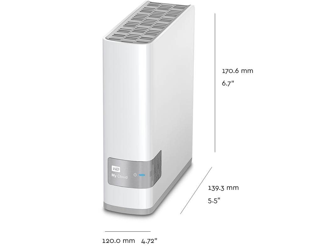 WD My Cloud 6TB NAS Cloud Storage (Refurbished) - $149.99 with free shipping