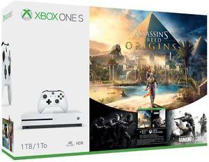 Xbox One S Assassin's Creed Origins Bonus Bundle (1TB) $239