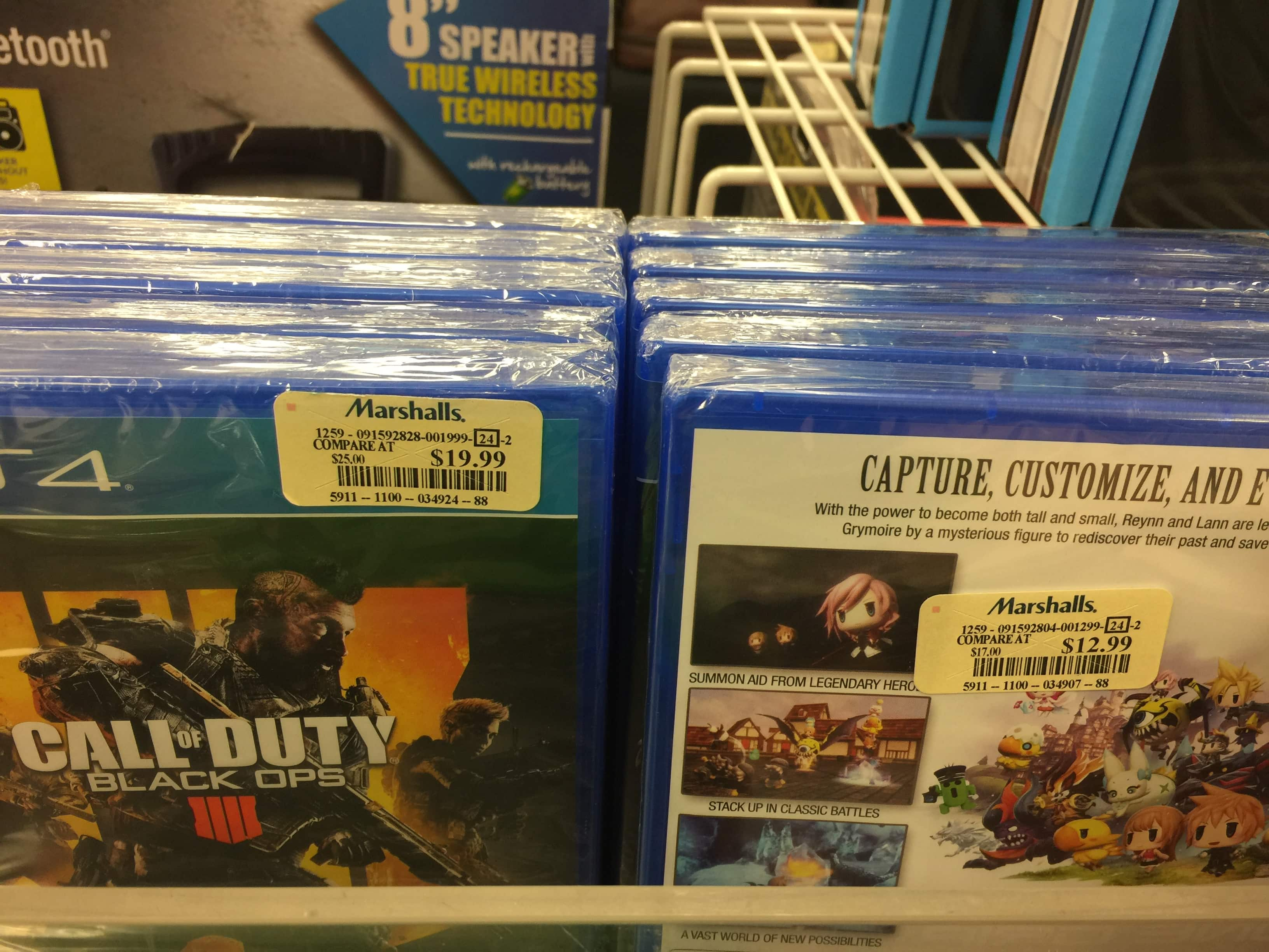 Call of Duty Black Ops 4 PS4 - YMMV - Marshall's Medfield MA $19.99