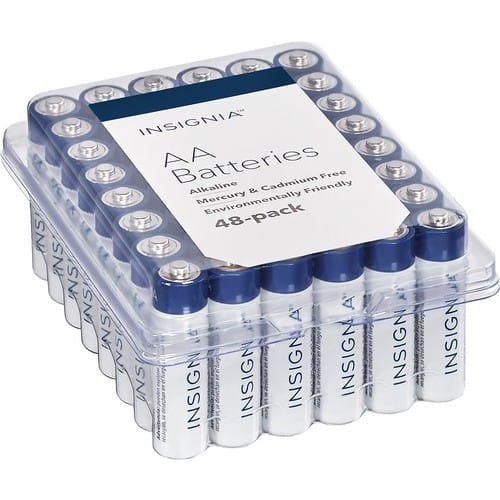 Insignia™ - AA Batteries (48-Pack) $7.99