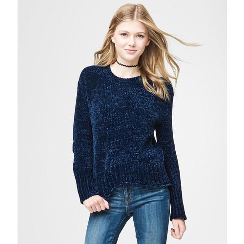 Aeropostale Solid Chenille Sweater $12.87