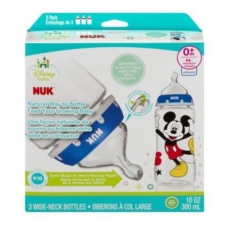 Nuk Disney Baby Wide-Neck Bottles 0+m - 3 CT $10.61