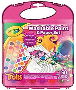 Crayola Trolls Washable Paint & Paper Sets $12.99