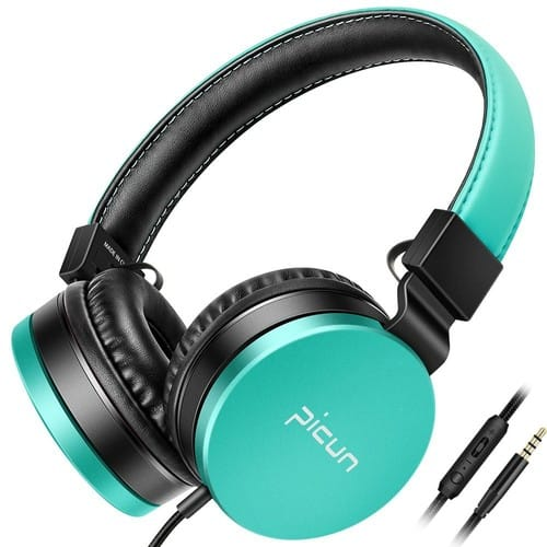 Picun C18 Headphones with Mic HiFi Stereo $9.88