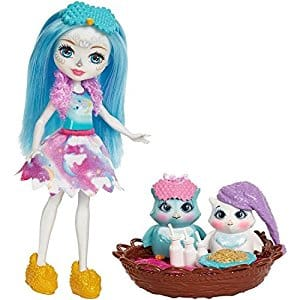 Enchantimals Sleepover Night Owl Dolls & Playset $10.39