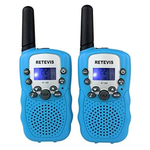 Retevis 22CH FRS LCD Display VOX Friendly Walkie Talkies Toys(Blue,1 pair) $12.74