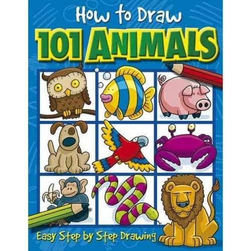 How to Draw 101 Animals $3.21