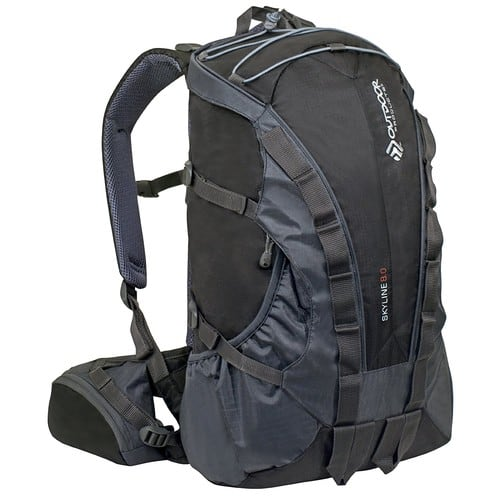 Outdoor Products Skyline Backpack [Black] $25.26