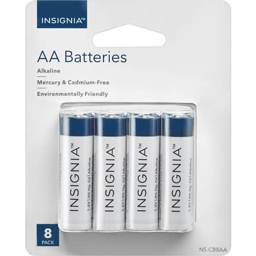 Insignia™ - AA Batteries (8-Pack) $2.99