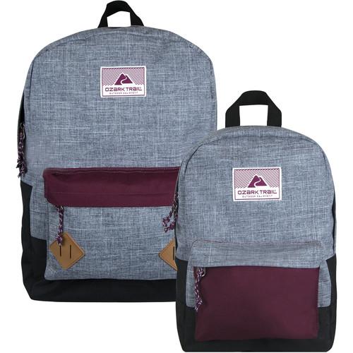 Ozark Trail Vintage Family Backpack Set $14.90 ($7.45 / each)