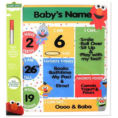 Sesame Street Elmo Dry Erase Board $2.98