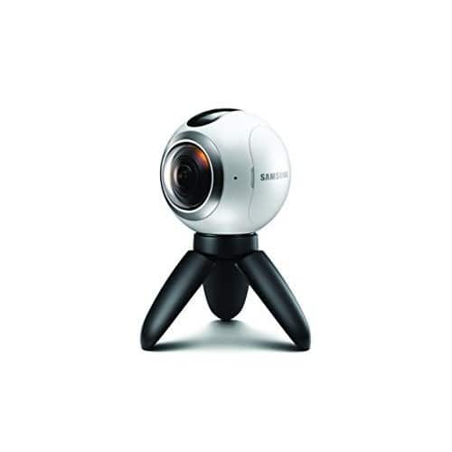 Samsung Gear 360 Real 360° High Resolution VR Camera (US Version with Warranty) $65.00