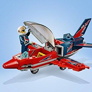LEGO City Great Vehicles Airshow Jet 60177 Building Kit (87 Piece) $9.99