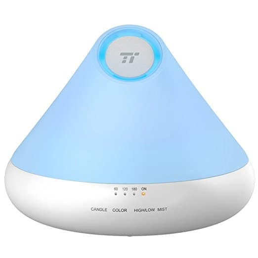 TaoTronics 300ml Aromatherapy Diffuser with Natural Candle Light  $18.99