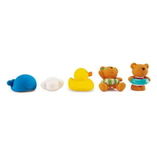 2017 Hape Kids Little Splashers Teddy and Friends Bath Squirts $5.90