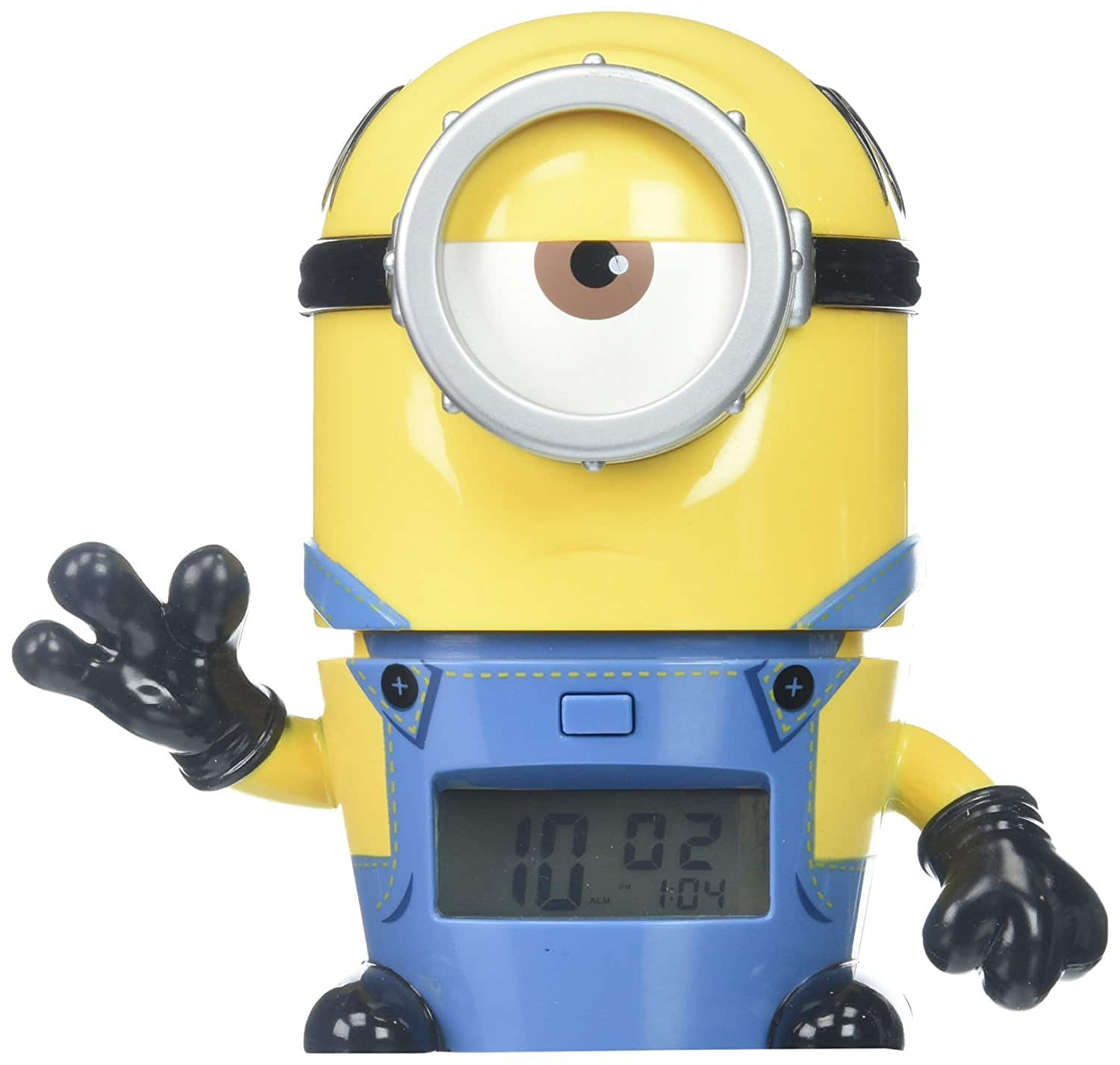 BulbBotz Despicable Me 3 2021234 Mel Minions Kids Night Light Alarm Clock with Characterized Sound   $12.38