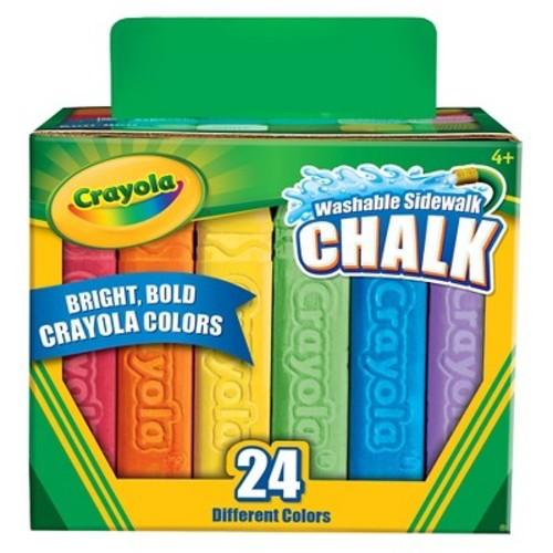 Crayola® Sidewalk Chalk Washable 24ct $1.99