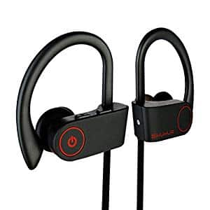 SHUHUA Wireless Bluetooth Earbuds Sweatproof Earbuds for Gym Running Workout $6.61