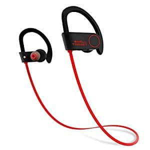 Small TargetWireless Sport Earphones w/Mic IPX7 Waterproof 9-Hour Working Time for Running Workout $5.98