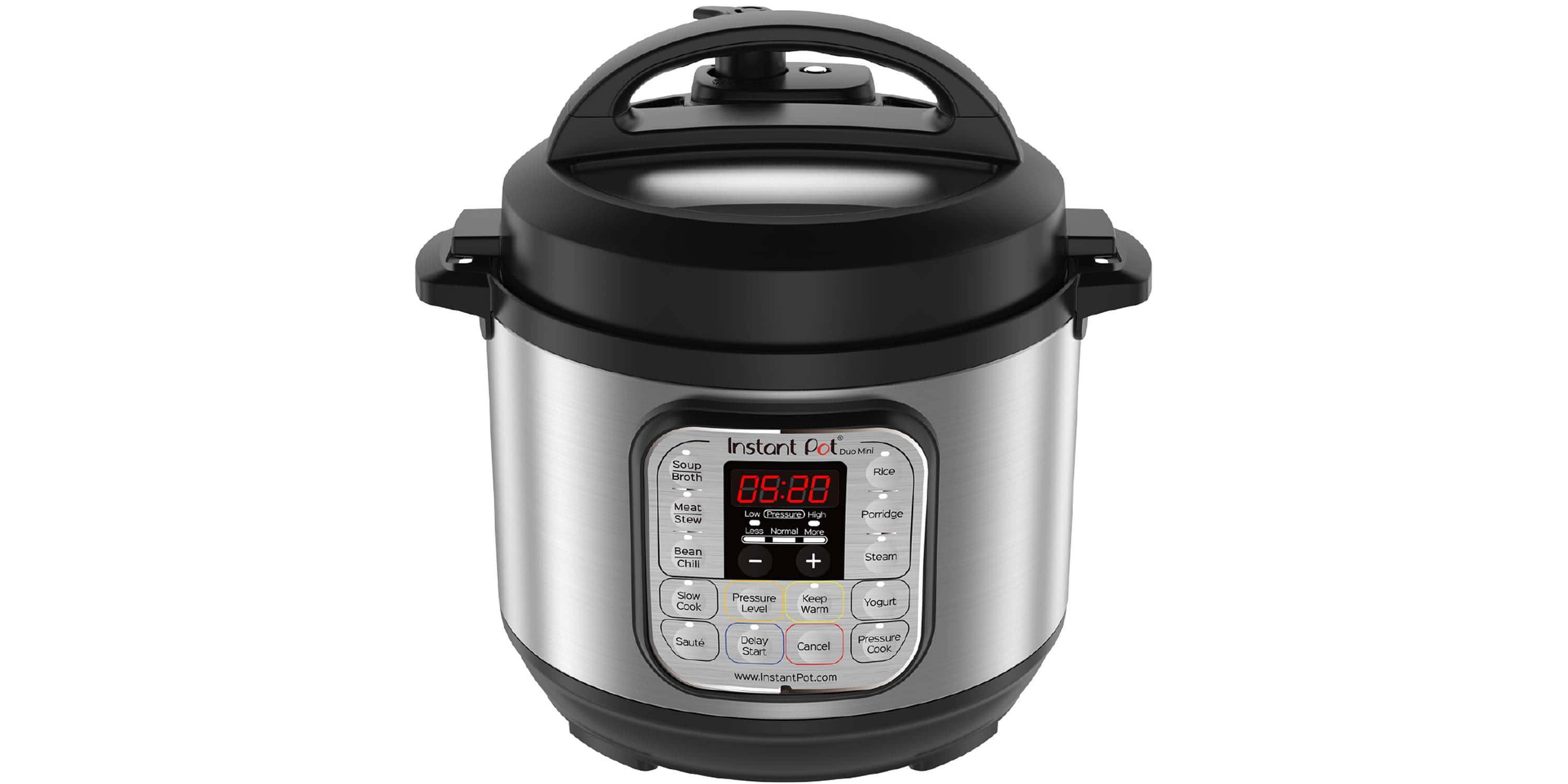 Instant Pot Duo Mini 3-Quart Programmable Pressure Cooker $51.99 @ Target (YMMV: $21.99 via Google Express & AMEX Offer)