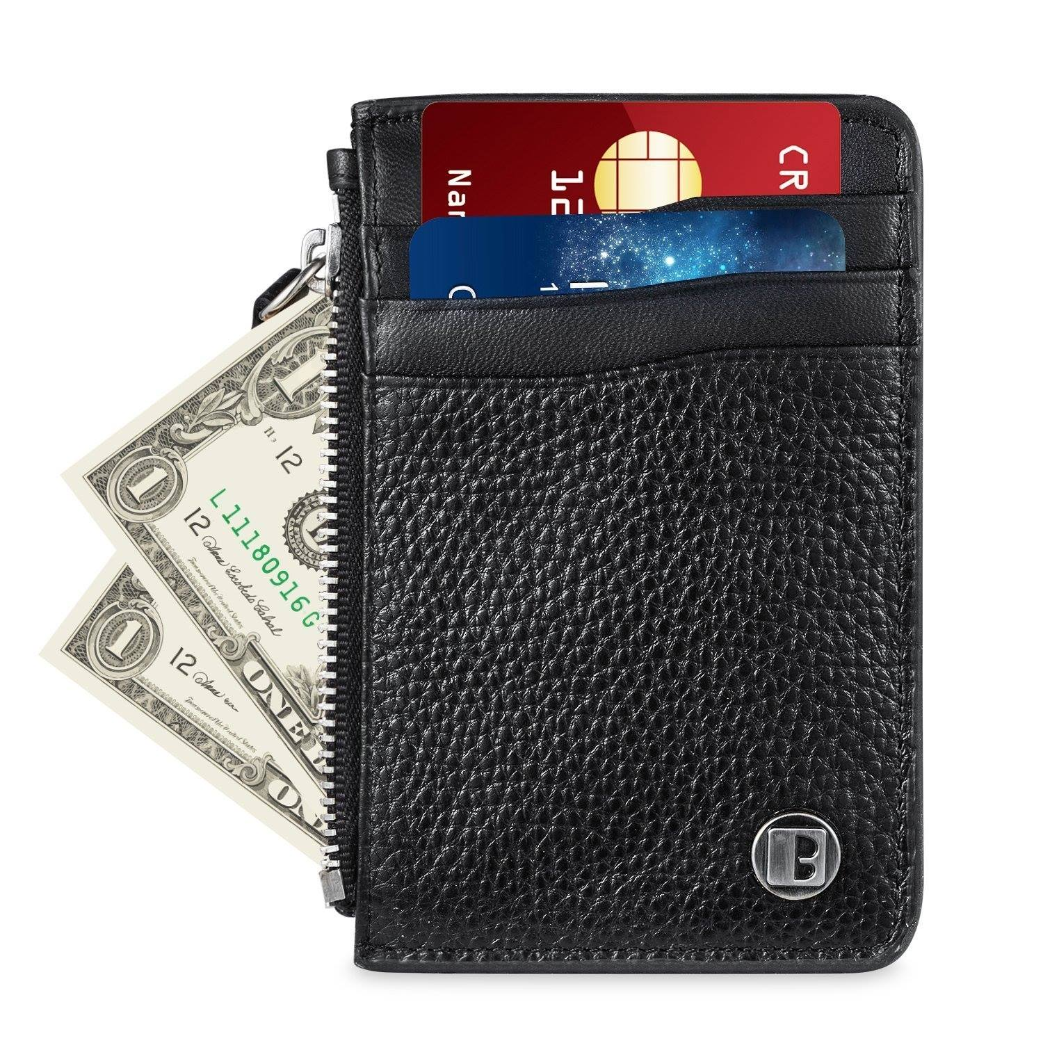 $8.96 Benuo Genuine Leather Credit Card holder-Free @ Amazon