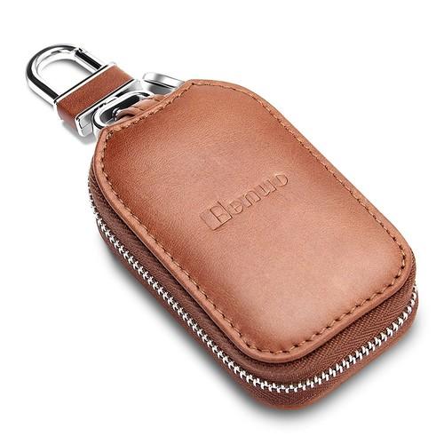 $9.93 Benuo Genuine Leather Car Key Case-Free Shipping @Amazon